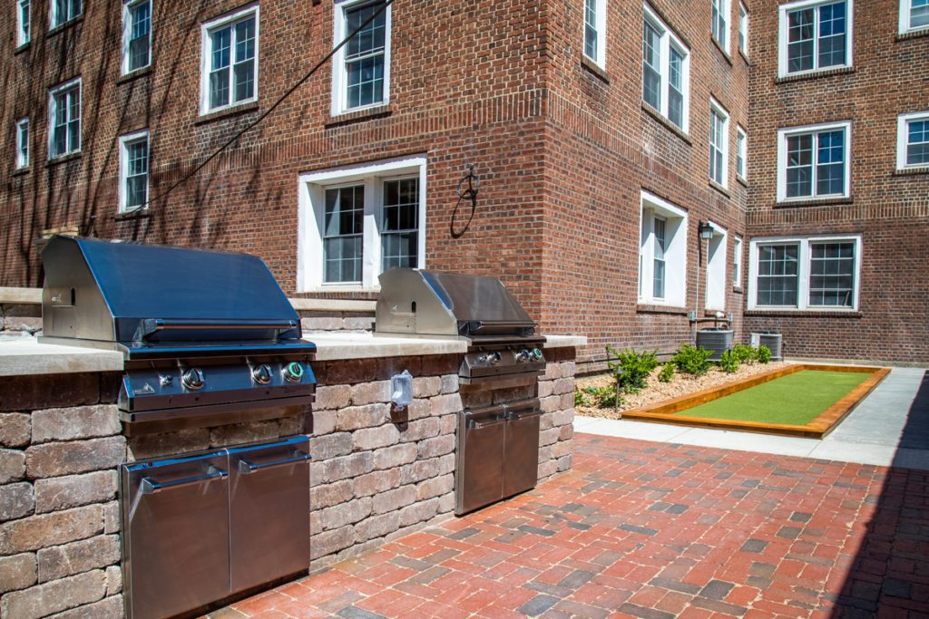 Grills and bocce court available at B&B